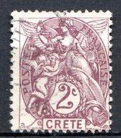 Ile De CRETE - (Bureau Français) - 1902-03 - N° 2 - 2 C. Brun-lilas - Kreta