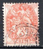 Ile De CRETE - (Bureau Français) - 1902-03 - N° 3  - 3 C. Orange - Crete