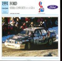 Grande Bretagne 1991 à Nos Jours : Ford Cierra Cosworth 4 X 4 GR A - Voitures