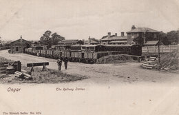 Ongar Railway Station Epping Antique Railway 1905 Postcard - Sin Clasificación