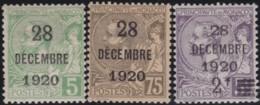 Monaco  .    Yvert    .   48/50       .     *   .   Neuf Avec Gomme Et Charniere   .   /  .    Mint-hinged - Monaco