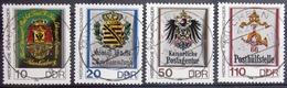 ALLEMAGNE Rep.Démocratique                  N° 2910/2913                        OBLITERE - Used Stamps