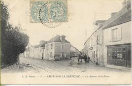 SAINT NOM LA BRETECHE La Mairie Et La Poste - St. Nom La Breteche