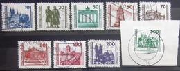 ALLEMAGNE Rep.Démocratique                  N° 2947/2955                        OBLITERE - Used Stamps