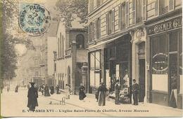 PARIS  16éme L'Eglise St PIERRE De CHAILLOT Avenue MARCEAU (belle Animation) - Arrondissement: 16
