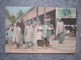 SENEGAL - ST LOUIS - GUET N'DAR - LE MARCHE - Senegal