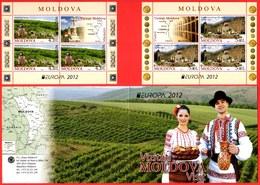 "Moldova 2012 ""Europa-CEPT 2012"" ""Visit"" Booklet.Quality:100% - Europa-CEPT"