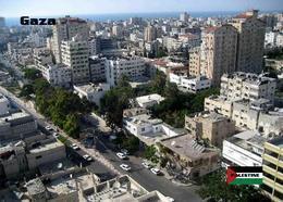 Palestine Gaza City Overview New Postcard Palästina AK - Palestine