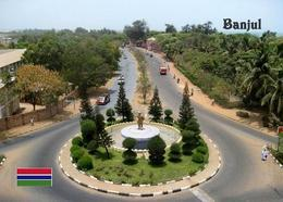 Gambia Banjul Yahya Jammeh Statue New Postcard - Gambie