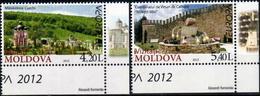 """Moldova 2012 """"Europa. Visit"""" 2v Quality:100% - Europa-CEPT"""