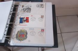France FDC    1965 -1966 - 1960-1969