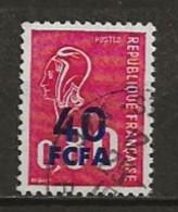 REUNION CFA: Obl., N° YT 430, TB - Reunion Island (1852-1975)
