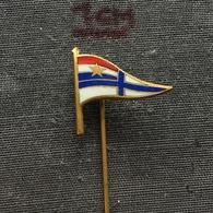 Badge Pin ZN006406 - Rowing Kayak Canoe Swimming Yugoslavia Croatia Split SK Gusar - Aviron