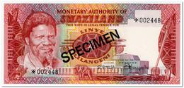 SWAZILAND,1 LILANGENI,1974,P.1,SPECIMEN,UNC - Swaziland