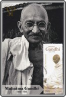 Portugal 2019 Maximum 150 Anos Mahatma Gandhi Histoire History Great Man Maxicard Maximo - Mahatma Gandhi