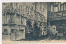 CPA. 119 Troyes Eglise De La Madeleine La Jubé Et Les Orgues - Troyes