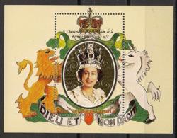 Guinée  équatoriale - 1978 - N°Mi. Bloc 297 - Queen Elisabeth II - OR - Neuf Luxe ** / MNH / Postfrisch - Guinée Equatoriale