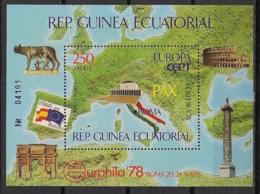 Guinée  équatoriale - 1978 - N°Mi. Bloc 303 - Euraphila - Neuf Luxe ** / MNH / Postfrisch - Guinée Equatoriale