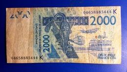 Senegal, 2003- 2000 CFA- Banque Centrale Des Etats De L'Afrique De L'ouest. - Sénégal