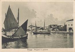CROAZIA-UMAGO-BRAGOZZI IN PARTENZA-CARTOLINA  VIAGGIATA IL 25-7-1940 - Kroatien
