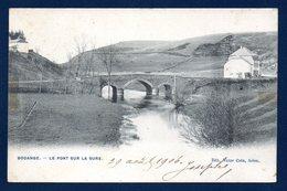 Bodange ( Fauvillers). Pont Sur La Sûre. Café De La Gare. 1906 - Fauvillers