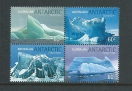 Australian Antarctic Territory 2011 Iceburgs Block Of 4 MNH - Australian Antarctic Territory (AAT)
