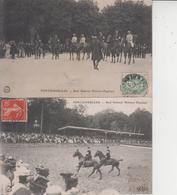 77 FONTAINEBLEAU  -  Raid National Militaire Hippique  -  LOT DE 6 CARTES  - - Fontainebleau