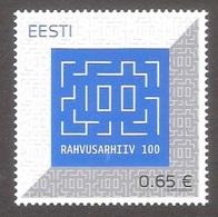 National Archives 100 Estonia 2020 MNH Stamp Mi 980 - Estonia