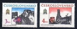 1989 Czechoslovakia MNH - Mi 3022-3023 ** MNH - Ungebraucht