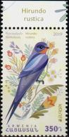 "Armenia 2019 ""Europa. National Birds.Rural Swallow "" 1v Qualiti:100% - 2019"