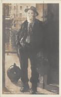 """ILLUSTRATEUR - JULES ADLER - """"HOMME AUX CRUCHES"""" - SALON 1909 - Autres Illustrateurs"""
