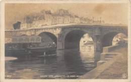 """ILLUSTRATEUR - AMORETTI - """"LE PONT NEUF"""" - SALON 1906 - Altre Illustrazioni"""