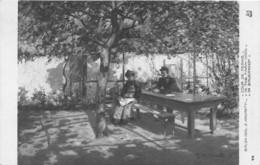 """ILLUSTRATEUR - G. AMORETTI - """"COUR DE FERME"""" - SALON 1910 - Altre Illustrazioni"""