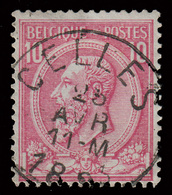"""COB N° 46 - Très Belle Oblitération - """"CELLES"""" - 1884-1891 Leopold II."""