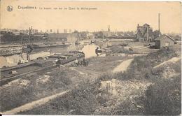 Erquelinnes - Le Bassin, Vue Sur Les Quais De Déchargement - Erquelinnes