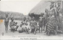 LYON - Exposition Internationale 1914 - Une Famille Sénégalaise - Exhibitions