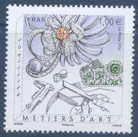 N° 5114 Métiers D'art Joaillier Faciale 1,00 € - Unused Stamps