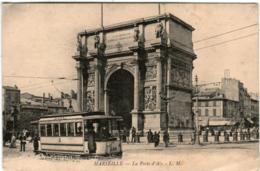 3YZ 915 CPA - MARSEILLE - LA PORTE D'AIX - Marseilles