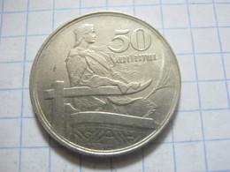 Latvia 50 Santimu 1922 - Lettland