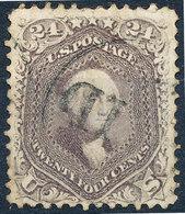 Stamp Us 1861 Washington 24c Used - Oblitérés