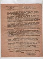 Lettre Buffevant Tisseur La Bâtie Montgascon Examen Radiographique 1947 Croix Rouge - Vieux Papiers