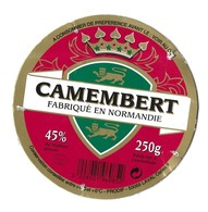 CAMEMBERT PRODIF LAVAL - SOCIETE FROMAGERE DE DOMFRONT ORNE-  BLASON, COURONNE, VOIR LE SCANNER - Fromage