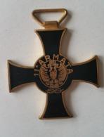 Medaglia Croce Commemorativa 11 Armata, Veemenza E Tenacia 1940. - Italie