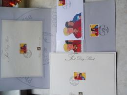 Bd 2007 Alix 3610 First Day Sheet Et Fdc Sur Document Avec Timbres Oblitéré Dans Enveloppe Cartonée Sans La Feuille De 5 - FDC
