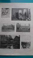 Somme,la Gréve à Fressenneville,le Chateau De Mr. Riquier,14 Avril 1906 - Historische Documenten