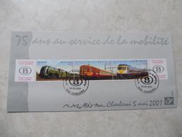 Train Souvenir 2001 Charleroi Serie 2993/95 - Souvenir Cards
