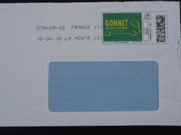 Déménagement Camion Truck Timbre En Ligne Montimbrenligne Sur Lettre (e-stamp On Cover) TPP 4952 - Francia