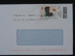 Chaussures Bottes Escargot Timbre En Ligne Montimbrenligne Sur Lettre (e-stamp On Cover) TPP 5034 - France