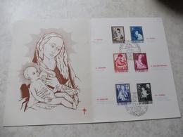 Souvenirs 1961 Antituberculeux La Mere Et L'enfant 1198/03 - Souvenir Cards