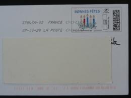 Bonnes Fêtes Bougies De Noel Timbre En Ligne Montimbrenligne Sur Lettre (e-stamp On Cover) TPP 5046 - France